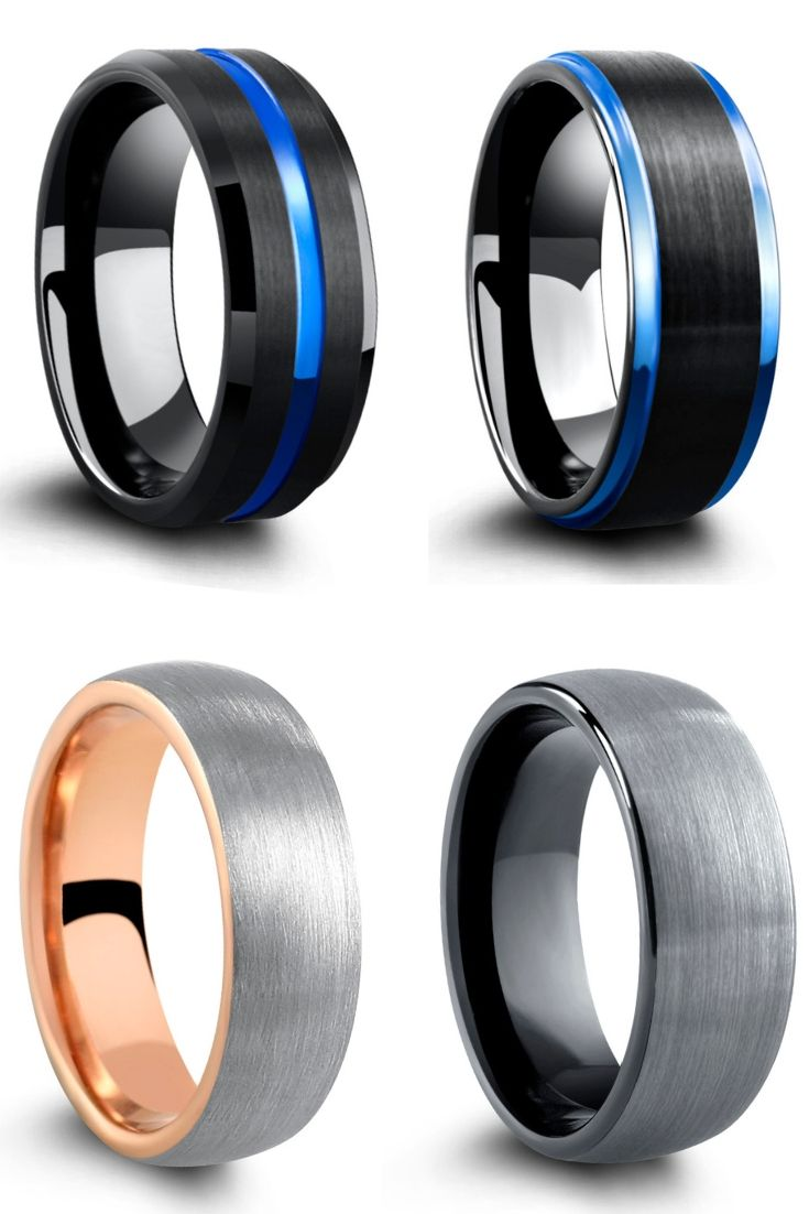 Mens Modern And Unique Wedding Rings Wedding Rings Unique Mens Wedding Bands Tungsten Mens Wedding Rings