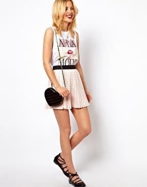 ASOS Skater Skirt with Pleats £25