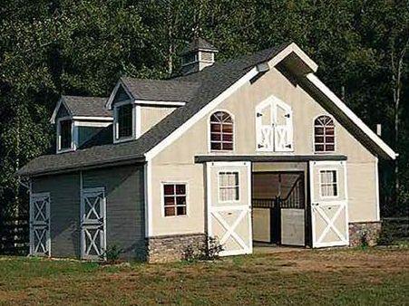 Six Stall Barn