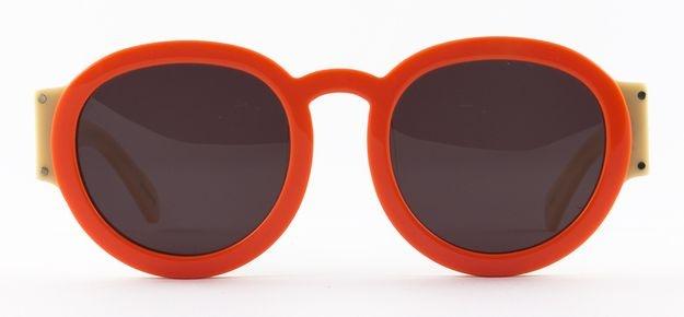 Karen Walker Pegs-orange/milk, sunglasses Eyewear