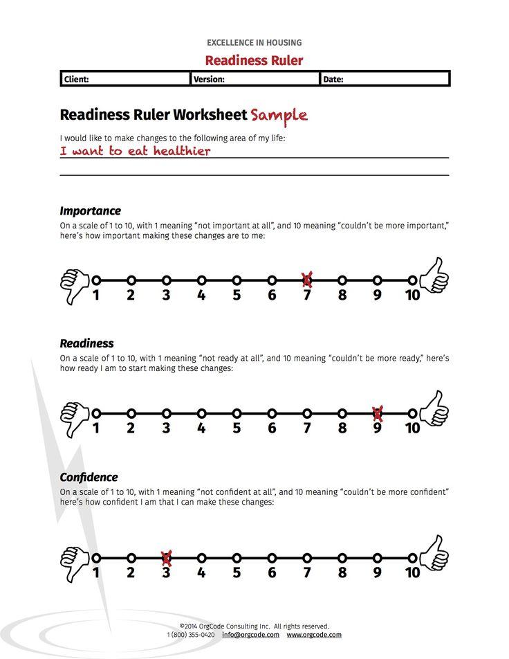 Motivational Interviewing Worksheets - Delibertad