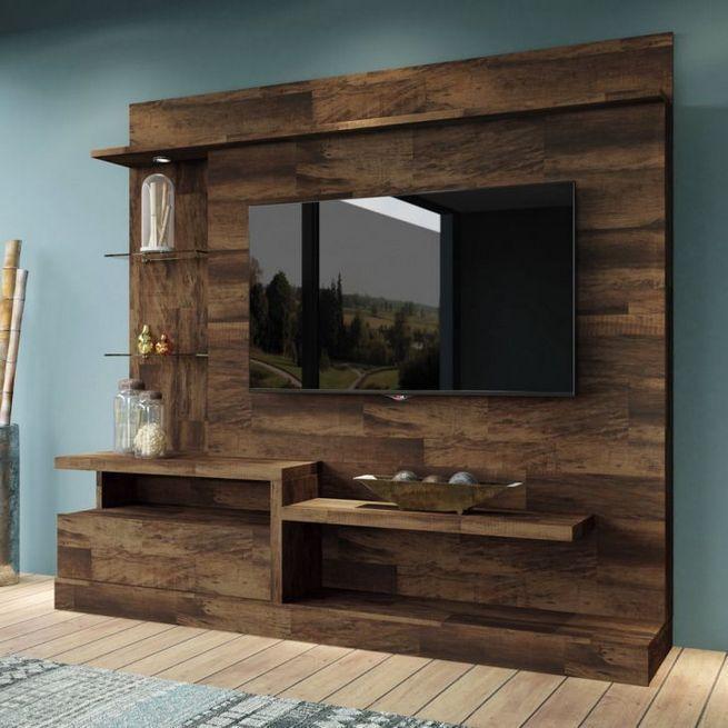 40 Best Rustic Tv Wall Decor Idea For