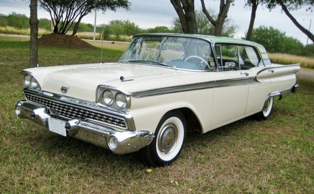 LESERANZEIGE: 8 km 1959 Ford Fairlane 500 Galaxie – Barn Finds