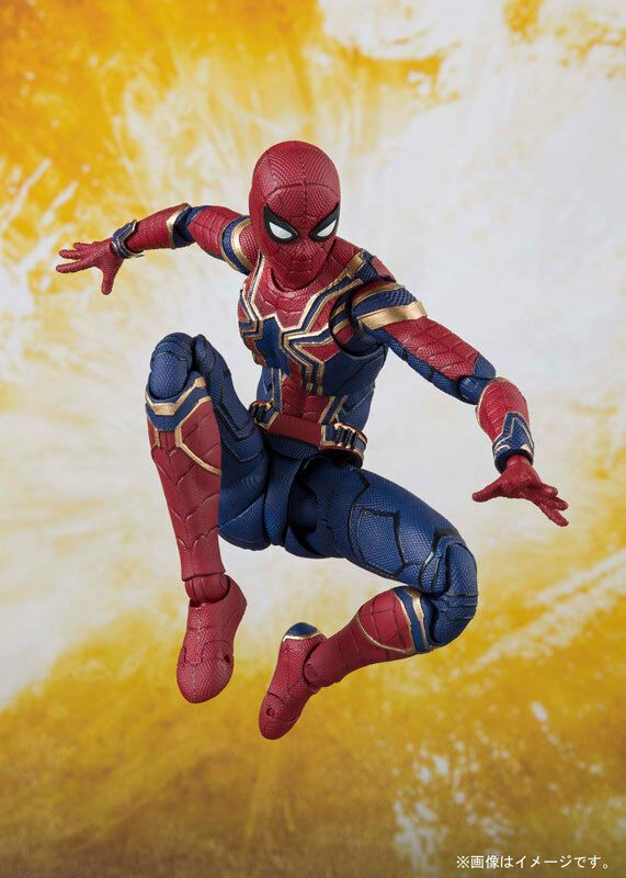 US SHIP S.H.Figuarts Spider-Man 6/'/' Action Figure SHF Movable Model Toy With Box