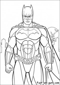 Free Printable Batman Costume Arkham City Coloring In Sheet For Kids