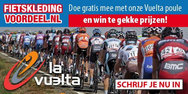 Nieuwe Ronde , nieuwe kansen!!  De Fietskledingvoordeel Vuelta Poule is weer geopend; Schrijf je nu in via deze link en maak kans elke dag weer kans op fraaie prijzen en 2 spectaculaire prijzen voor de eindwinnaars:  http://www.scorito.com/cycling-manager/vuelta2015/vuelta-spel?code=731482a2-78a7-4f26-8ad6-78b6db88d12e