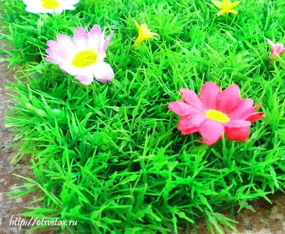 искусственный газон уход фото