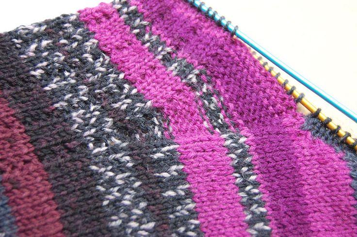 Anleitung: Toe Up Socken stricken mit Spickel, Fersenwand und Größentabelle