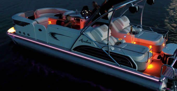 Avalon Ambassador Ponoton Boat | Luxury, Retro Pontoon Boat