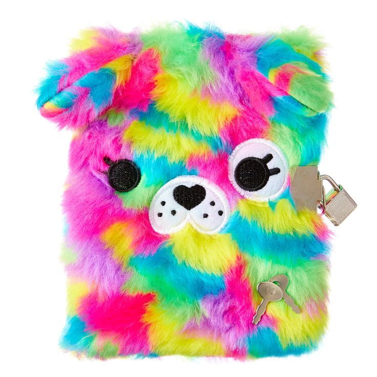 Image for Fluffy Small Animal Lockable Notebook from Smiggle UK