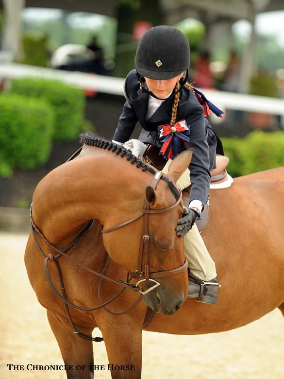Mollie Bailey Isabel Ryan and Woodland's Misty Rain, 2013 USEF Pony Finals