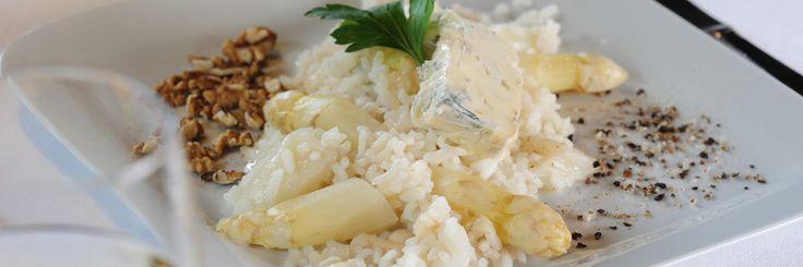 Ricetta Risotto agli asparagi con gorgonzola e pere - Risotto agli asparagi con gorgonzola e pere