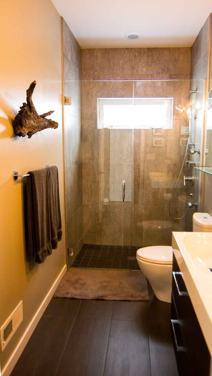 Amy  Todd's Mod Chicago Home - idea for the basement bathroom?