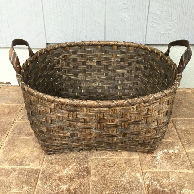 Rattan Basket Weaving Patterns : Best images about baskets on rattan