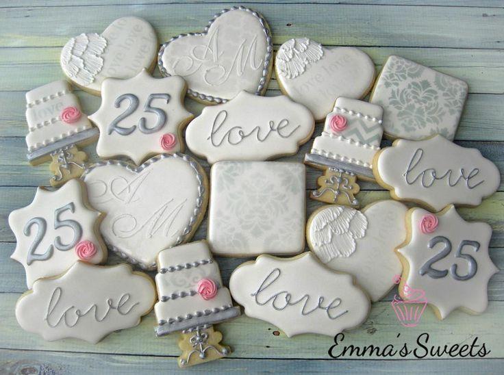 25th Wedding Ideas: Best 20+ Wedding Anniversary Cakes Ideas On Pinterest