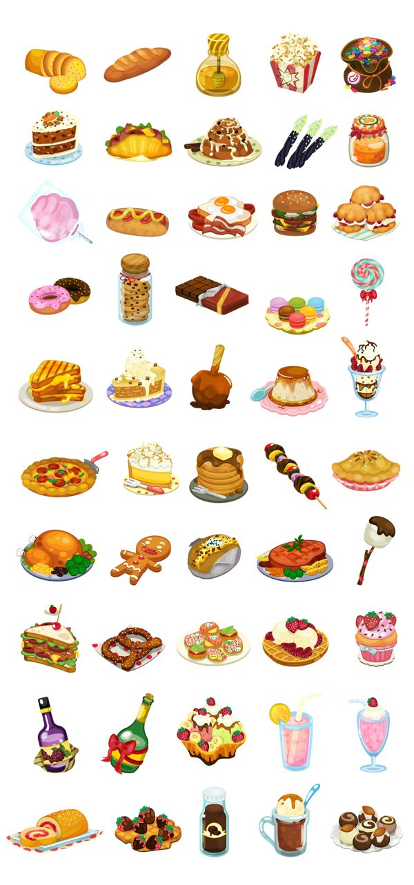 Delicious Items by Jin Sethanukul, via Behance