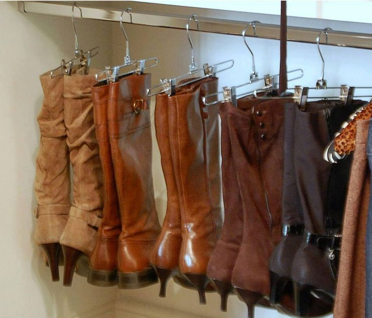 I love this idea! Every client I've done this for is surprised by this idea and loves it too. It keeps the shape of your boots perfectly.