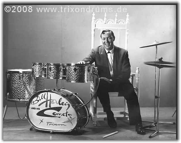 Trixon Drums with Bill Haley and his Comets