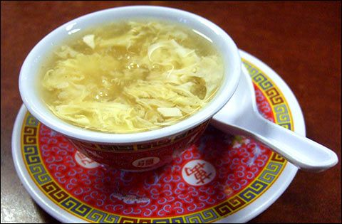 Egg Drop Soup _ The basic recipe for Egg Drop Soup (also called Egg Flower Soup) is very simple; I've included a few variations below. For more tips on how to make the soup, see Cooking Tips for Egg Drop Soup.