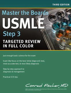 Master the Boards USMLE Step 3 Targeted Review in Full Color 3E ~ MEDICAL BOOKS FOR YOU