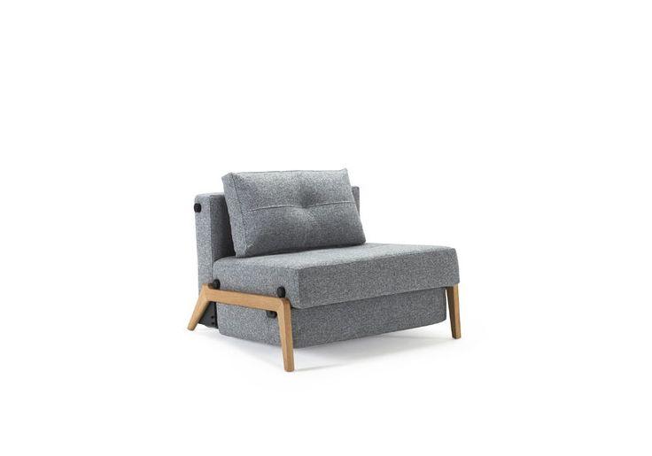 Cubed Wood (slaap)stoel van Innovation Living www.innostore.nl