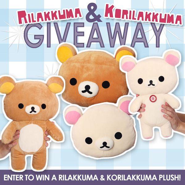 Rilakkuma and Korilakkuma giveaway from kigurumi!