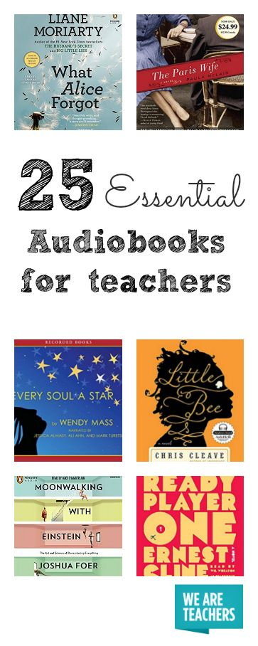 25 Audiobooks That Every Teacher Needs to Get Through the Rest of the School Year (and Beyond) - WeAreTeachers