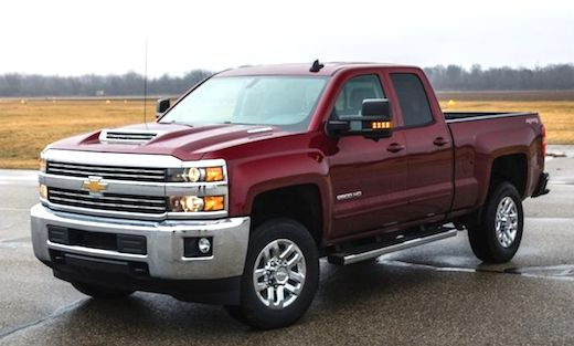 2018 Chevy Silverado 2500 Redesign The Duramax makes 445 horsepower-more than any diesel rival-and a colossal 910 lb-ft of torque. More than a diesel power