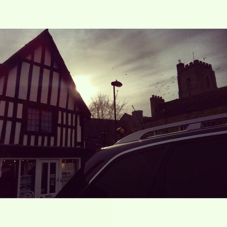 Mildenhall hall town England