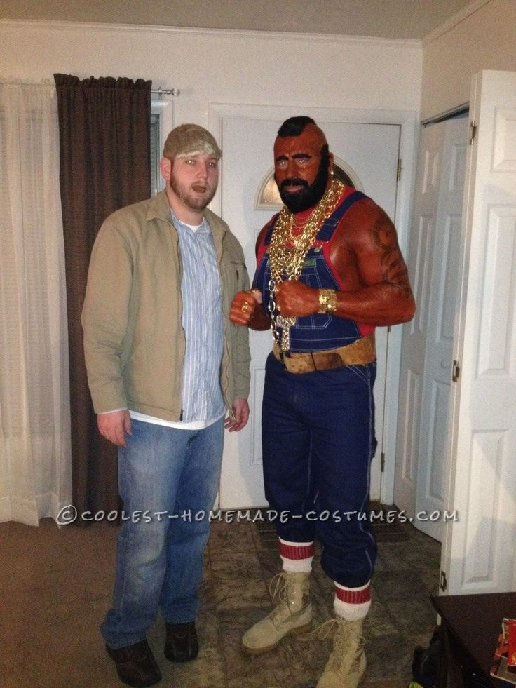 Homemade Me As Mr T Costume Costumes Homemade And