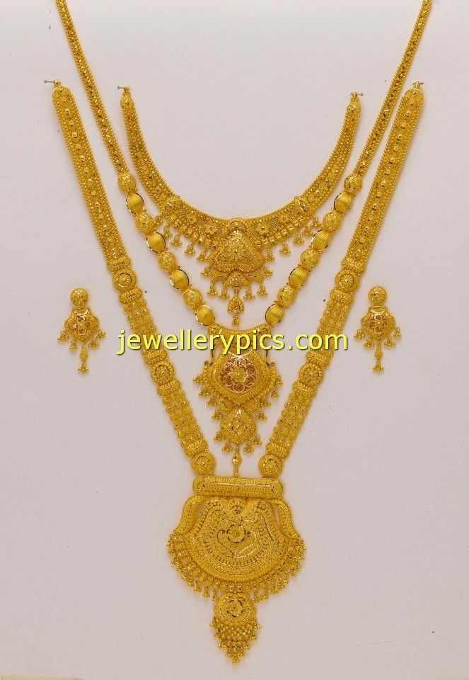 Latest Gold Mini Haram desisgns - Latest Jewellery Designs
