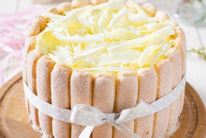 Торт с савоярди тирамису