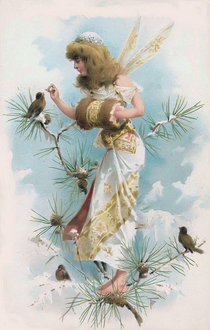 Днем ленинского, открытки 20 века ангелы