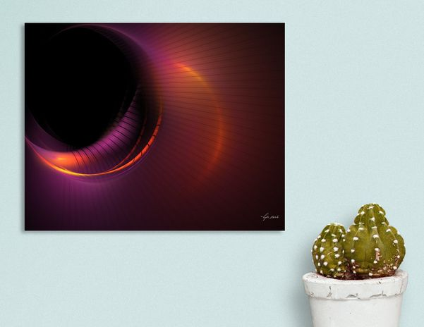 Discover «Worm Hole», Numbered Edition Canvas Print by Lyle Hatch - From $49 - Curioos