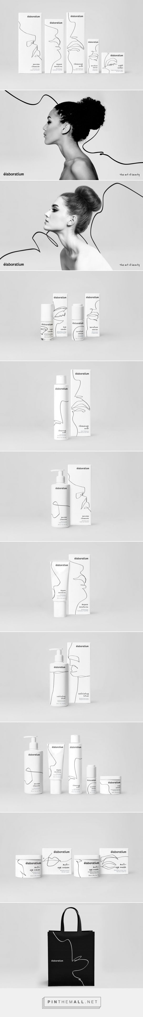 A Concept of How Art Makes the World More Beautiful, and Cosmetics Helps Women to Maintain Their Beauty PACKAGING DESIGN | design by Stepan Solodkov