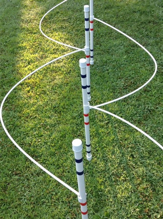 Dog Agility EquipmentWeave poles with guide by DogAgilityShop, $75.00