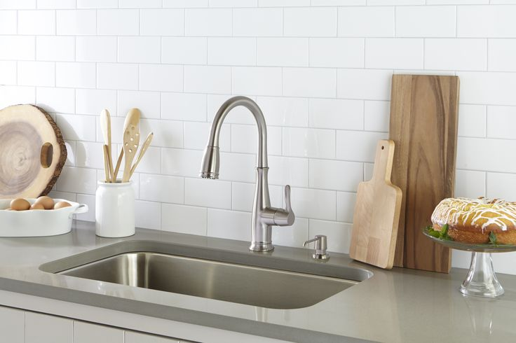 96 best images about kitchen faucets on pinterest faucet com mirxcps101cp in polished chrome by mirabelle