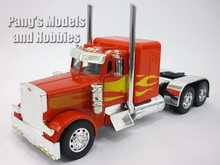 peterbilt 379 custom truck cab diecast metal 132 scale