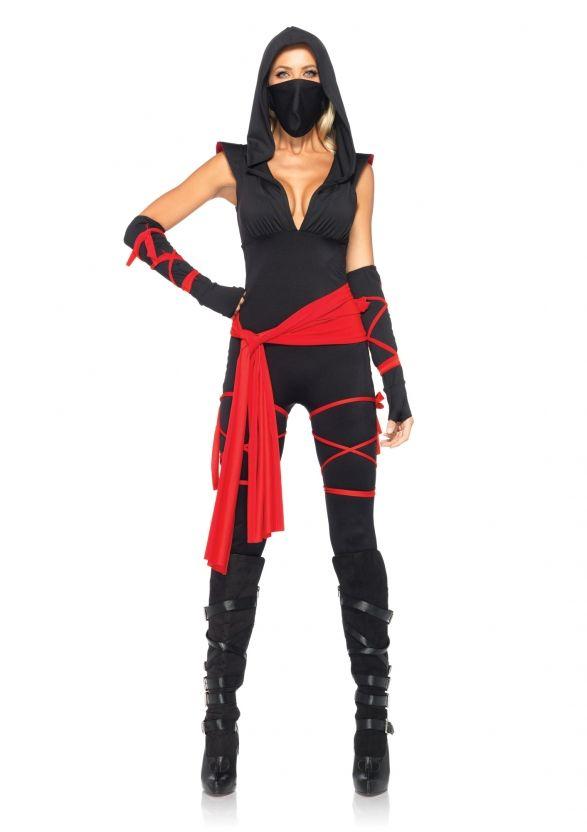 "Deadly Ninja ... Great as ""Skarlet"" ( a more modest version) ..Mortal Kombat size 10-12"
