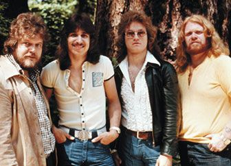 """BTO   Bachman-Turner Overdrive (BTO) Biography - Famous Canadians - CKA """"Takin' Care Of Business"""" etc... Played Canada... woh that's why."""