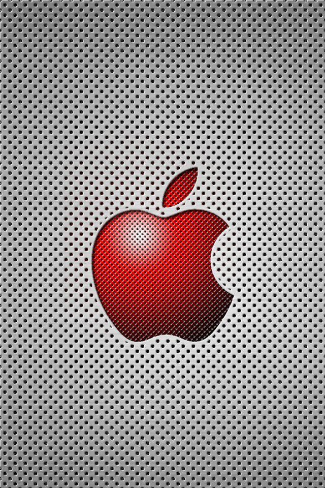 red apple logo iphone wallpaper - Bing images