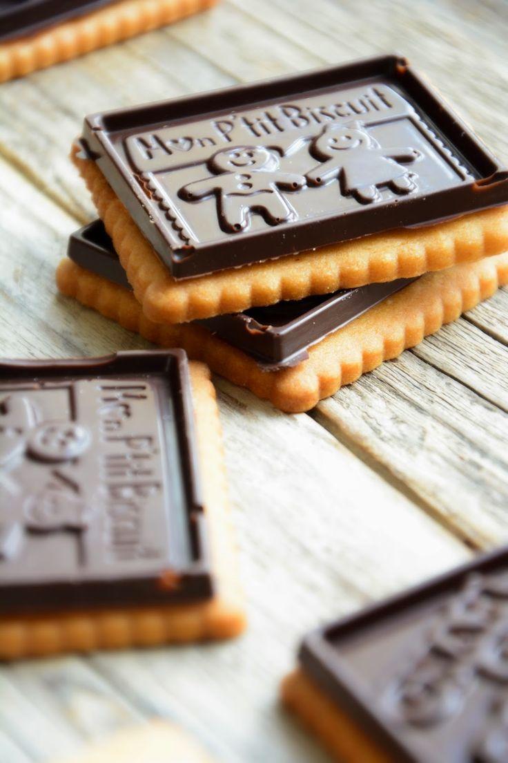 Chic, chic, chocolat...: Petit écoliers (comme les vrais... ou presque!)