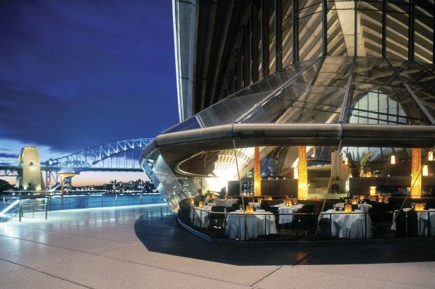 Sydney Opera House, Bennelong Restaurant....totally over-rated.