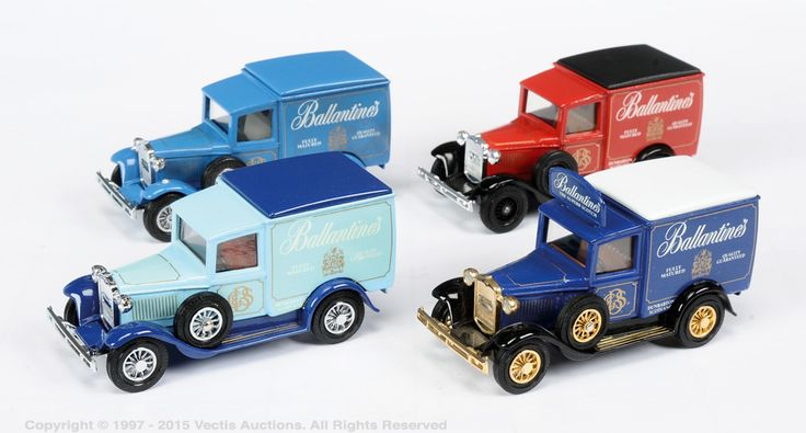 Matchbox Models Of Yesteryear 4 X Y22 Ford Model A Van Pre-Production | Vectis…