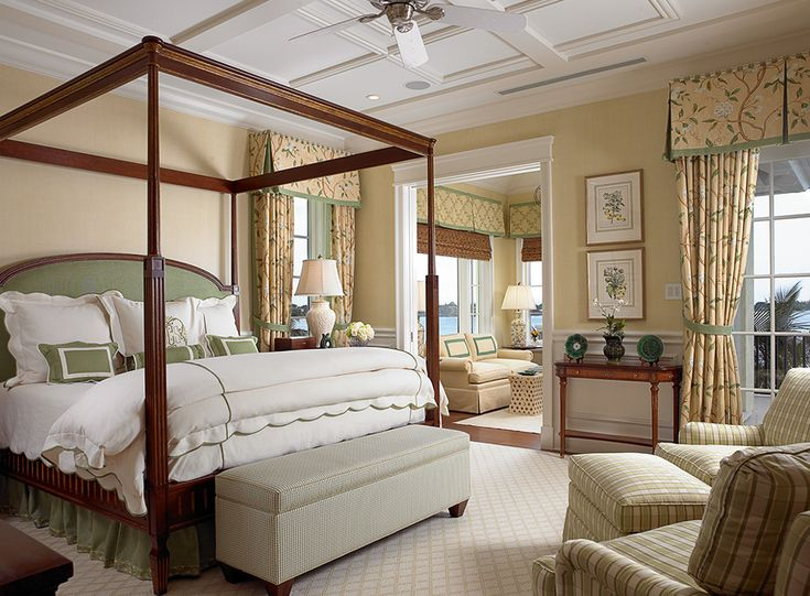 this florida bedroom designed by lisa erdmann includes our louis xvi canopy bed www