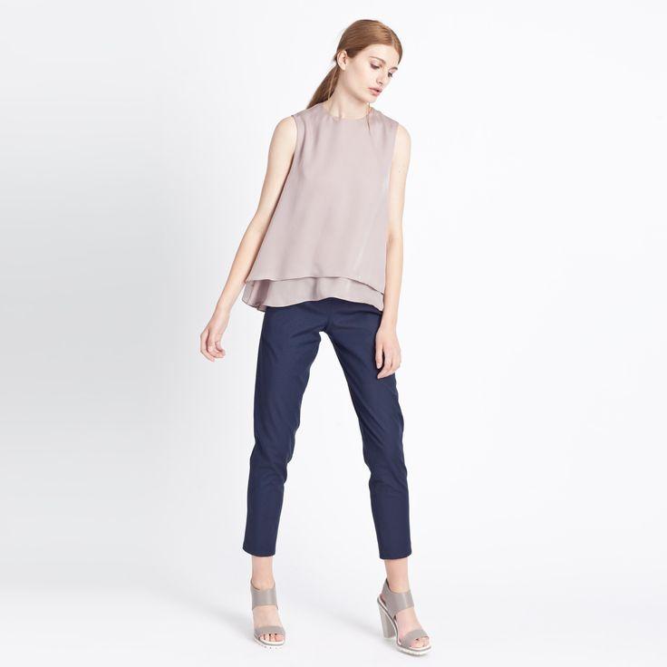 Round Top Beige #top #beige #round #elementy #minimal #classic #polishfashion