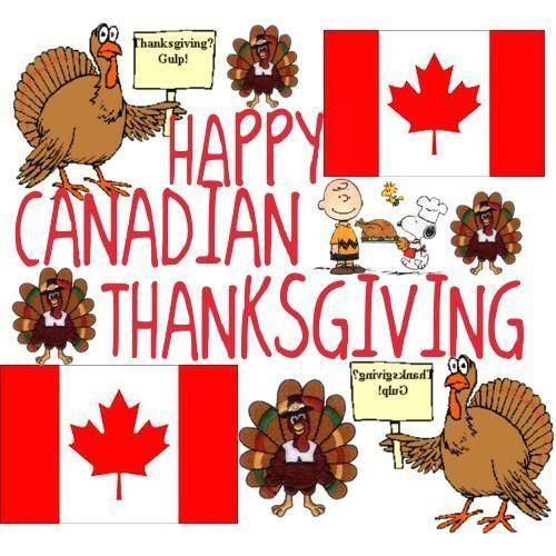 Happy Thanksgiving Canada! | 1000 in 2020 | Happy ...