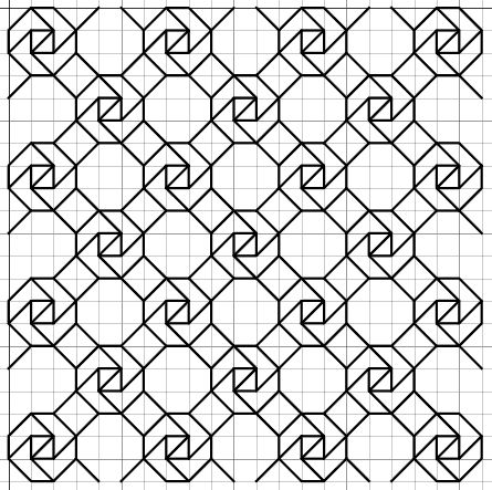 imaginesque vrije blackwork borduurpatronen