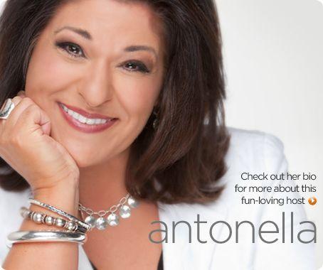 QVC Host Antonella Nester
