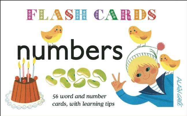 Numbers - Flash Cards: 56 Word and Number Cards, with Learning Tips